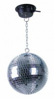EUROLITE Mirror Ball 20 cm  SET LED 6000K - Ekb-musicmag.ru