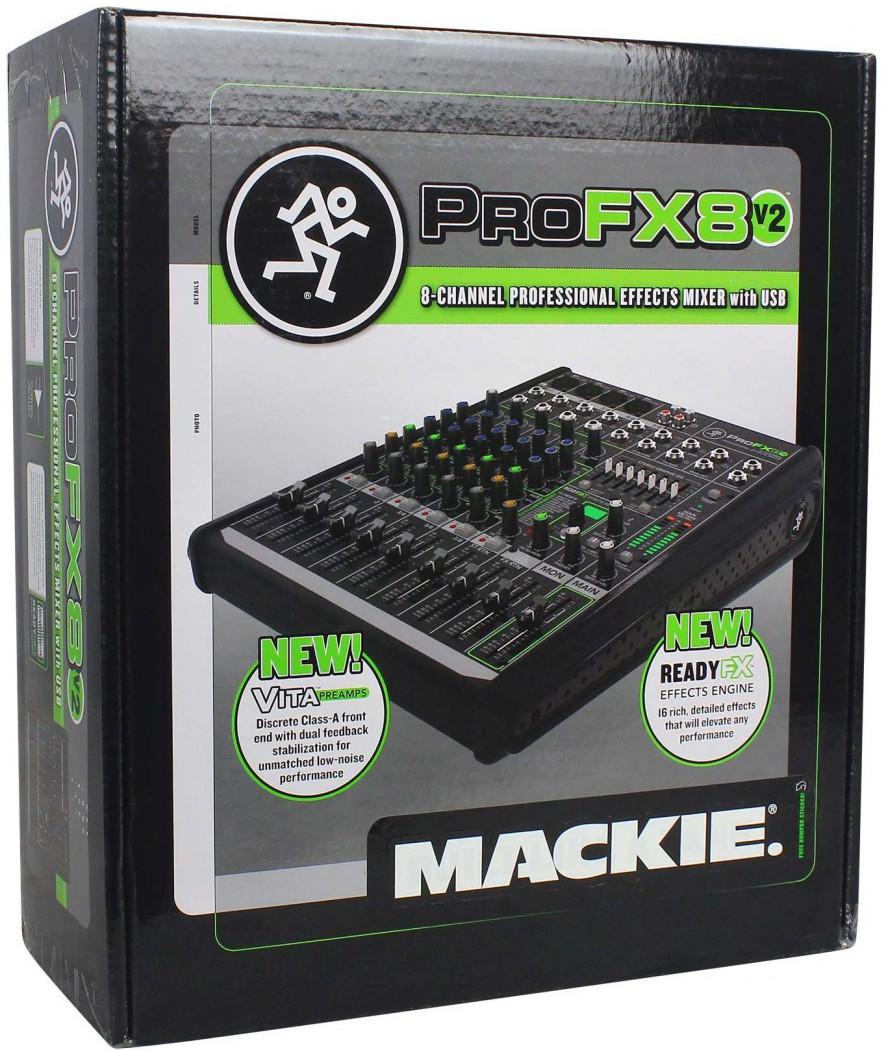 Mackie Profx8v2 Profx8 V2